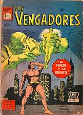 Los Vengadores #62 - Mexican Avengers Sub-Mariner - (Grade 5.0) 1967