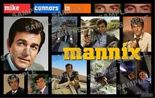 MANNIX FAN MADE 11 X 17 poster print Mike Conners