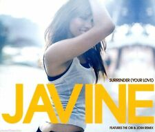 JAVINE | Surrender ( Your Love) | Very Good Condition | Music CD | Free Shipping