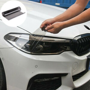 40cmx150cm Light Black Car Tint Film Sticker Decal for Headlight Tail Light Fog
