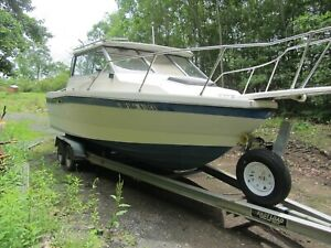 21.5' Bayliner Trophy fishing boat