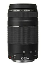 Canon 75-300 mm Zoom Lens f/4-5.6 III