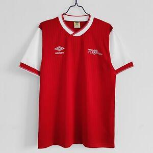1984-86 Arsenal Home Retro Soccer Jersey