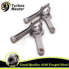 Forged Connecting Rod Rods for Fiat Punto GT 1.4 1.6 Turbo Con Rod 128.5mm 800HP