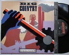 Big Country Steeltown USA 1984 LP + Innerbag