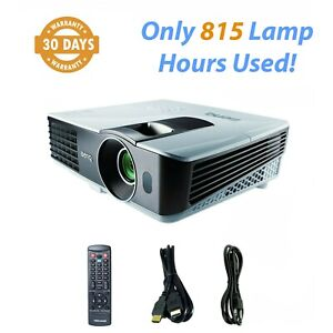 BenQ MX710 3D DLP Projector 2700 ANSI 1080p HDMI - Only 815 Lamp Hours Used!