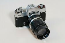 [MINT+] ZEISS IKON Icarex 35S with SOLIGOR 135mm F2.8 - TESTED & WORKS BUT READ