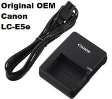 Genuine OEM LC-E5E LC-E5 Charger for Canon Rebel T1i XS XSi LP-E5e Battery