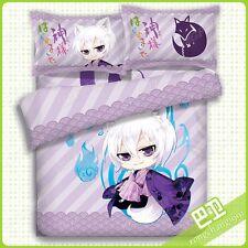 Hot Anime Kamisama Kiss Tomoe Quilt Cover Bed Sheet Pillowcase 4pcs Bedding Set