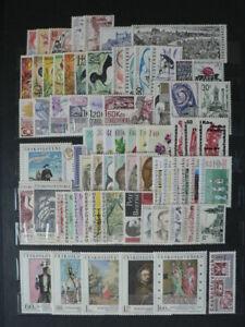 CZECHOSLOVAKIA - complete year 1967 + 3 sheet   unused MNH**