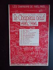 """Partition """"Le chapeau neuf"""" Noël-Noël"""