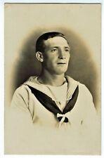 RPPC English Sailor, UK, c1890s-1900s