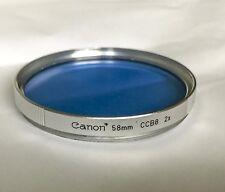 Genuine Canon 58mm CCB8 Filter