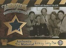 """The Three Stooges Update (2007) - CC7 """"Larry Fine's Tie"""" Costume Card #19/99"""