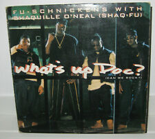 """Fu-Schnickens with Shaquille O`Neal -What`s up Doc? 12"""" Hip Hop Public Enemy"""