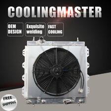 Aluminum Radiator & Fan Shroud For 01-10 Chrysler PT Cruiser GT Limited LX L4