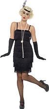 Smiffys Smiffy's-costume da Donna anni '20 Taglia EU 52-54 colore Nero (i2n)