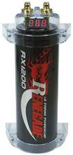 1,2 Farad Kondensator Renegade RX1200 1,2F NEU Powercap CAP ELKO CarHifi Auto 1F
