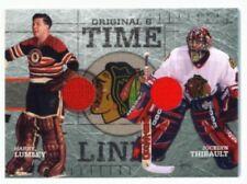 "HARRY LUMLEY & JOCELYN THIBAULT ""TIME LINES DUAL GUJ CARD"" CHICAGO ORIGINAL SIX"