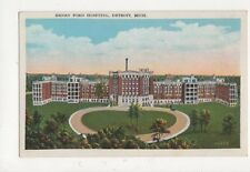 Henry Ford Hospital Detroit Vintage Postcard USA 512a