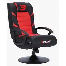 Pre-Loved BraZen Bluetooth Gaming Chair - Pride 2.1 Surround Sound Speaker - Red