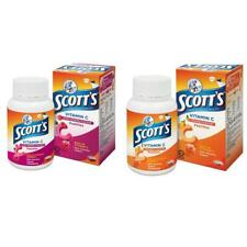 Scott's Vitamin C Pastilles Supplement 15's x 30g / 50's x 100g  Berries/Orange