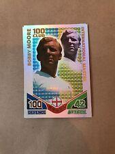 Match Attax Copa del Mundo 2010 Bobby Moore 100 Club International Master Leyenda
