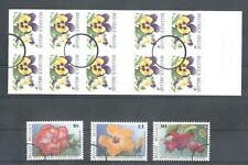 (859325) Flowers, Booklet, Belgium - SPECIMEN -