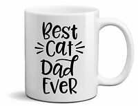 Best Cat Dad Ever High Quality Ceramic Coffee Tea Mug Purrfect Gift For Any