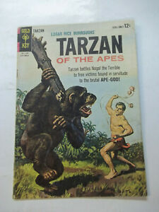 TARZAN OF THE APES  #145  (1964)  5.0 VG/FN