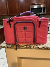 6 Pack Fitness Innovator 300 Meal Management Bag - Pink/Purple