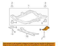 GM OEM Front Suspension-Rear Reinforcement Left 15923874