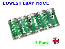 5 X 4LR44 6v Latest Original Eunicell Alkaline battery 476A A544 PX28 4G13 L1325