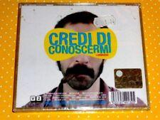 LOMBROSO  -  CREDI DI CONOSCERMI  -  CD  2007  NUOVO E SIGILLATO