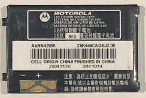 Official Motorola AANN4285B Original Replacement Battery 860mAh