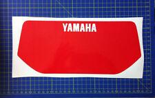 Yamaha xt600 43 f 83/86 tabella moto nera - adesivi/adhesives/stickers/decal
