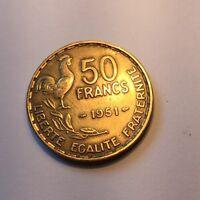 50 Francs Guiraud 1951 N1