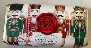 Michel Design Works Bath Bar Large Soap Holiday Nutcracker Made with Shea Butter