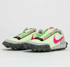 W Nike Waffle Racer Crater CT1983-700 Barely Volt Pink Blast Shoes Sneakers Shoe