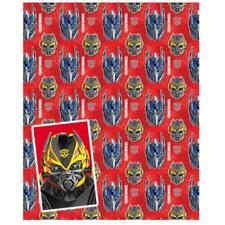 Transformers papier cadeau & étiquettes
