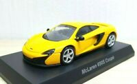 1/64 Kyosho MCLAREN 650S COUPE YELLOW diecast car model