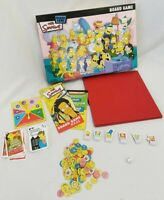 THE SIMPSONS BOARD GAME AGES 8 & OVER 2 - 6 PLAYERS FAMILY FUN SPRINGFIELD