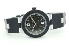 Bulgari Diagono Aluminium AL 38 TA Rubber Black Automatic Men's Watch
