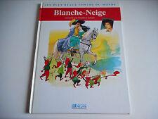 BLANCHE NEIGE raconté par MARLENE JOBERT - EDITIONS ATLAS