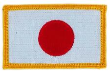 Patch écusson brodé Drapeau JAPON JAPONAIS FLAG Thermocollant  Blason