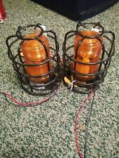 New listing Ecco 6200 Material Handling Strobe Light + wire coverAmber 12-80Vdc 6220A 2 sets