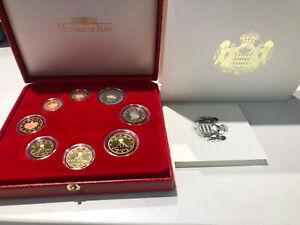 Monaco Euro BE 2006 11180 exemplaires 8 pièces avec certificat