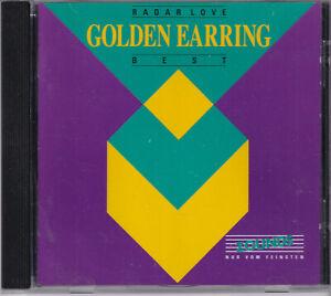 ZOUNDS - GOLDEN EARRING - Radar Love - Best - rare audiophile CD 1991