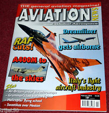 Aviation News Magazine 2010 February Autogyro,Italy,DHFS Shawbury,Constellation