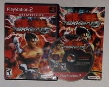Tekken 5 (Sony PlayStation 2, PS2, 2005) COMPLETE w/ Manual